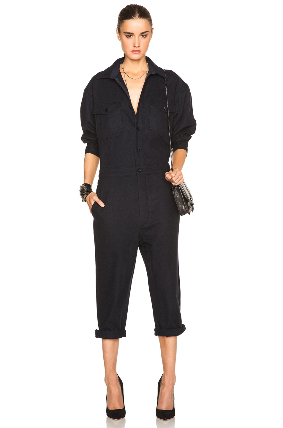 Image 1 of NLST Officer Jumpsuit in Navy