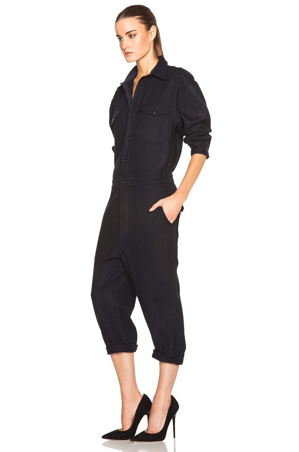 Image 2 of NLST Officer Jumpsuit in Navy