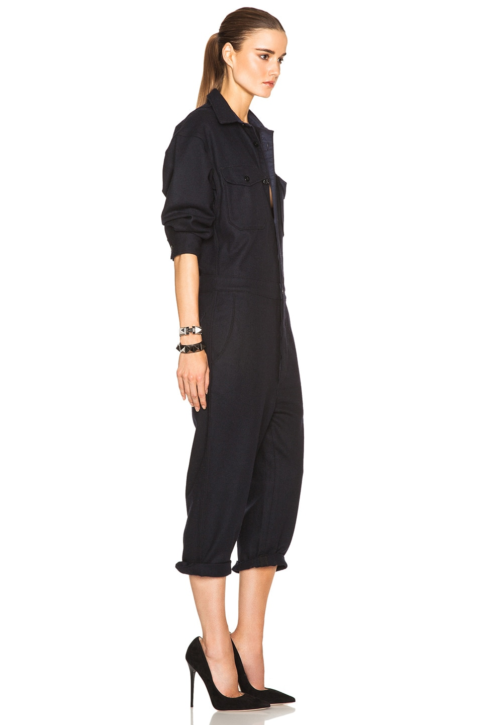 Image 3 of NLST Officer Jumpsuit in Navy