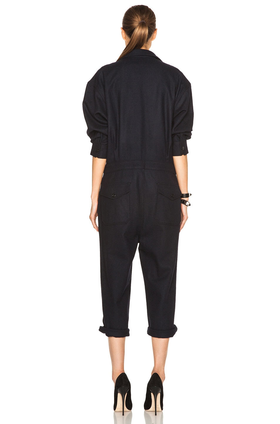Image 4 of NLST Officer Jumpsuit in Navy