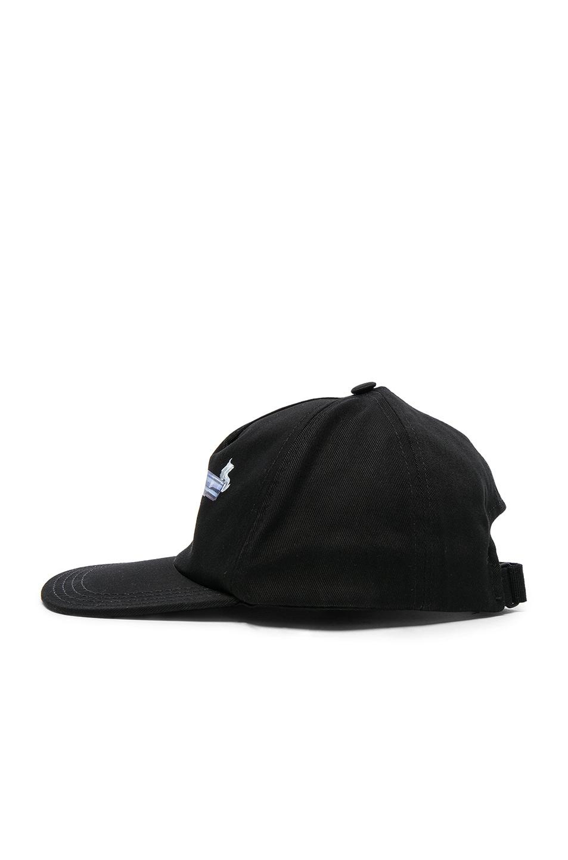Image 3 of OFF-WHITE Hand Gun Baseball Cap in Black & Multi