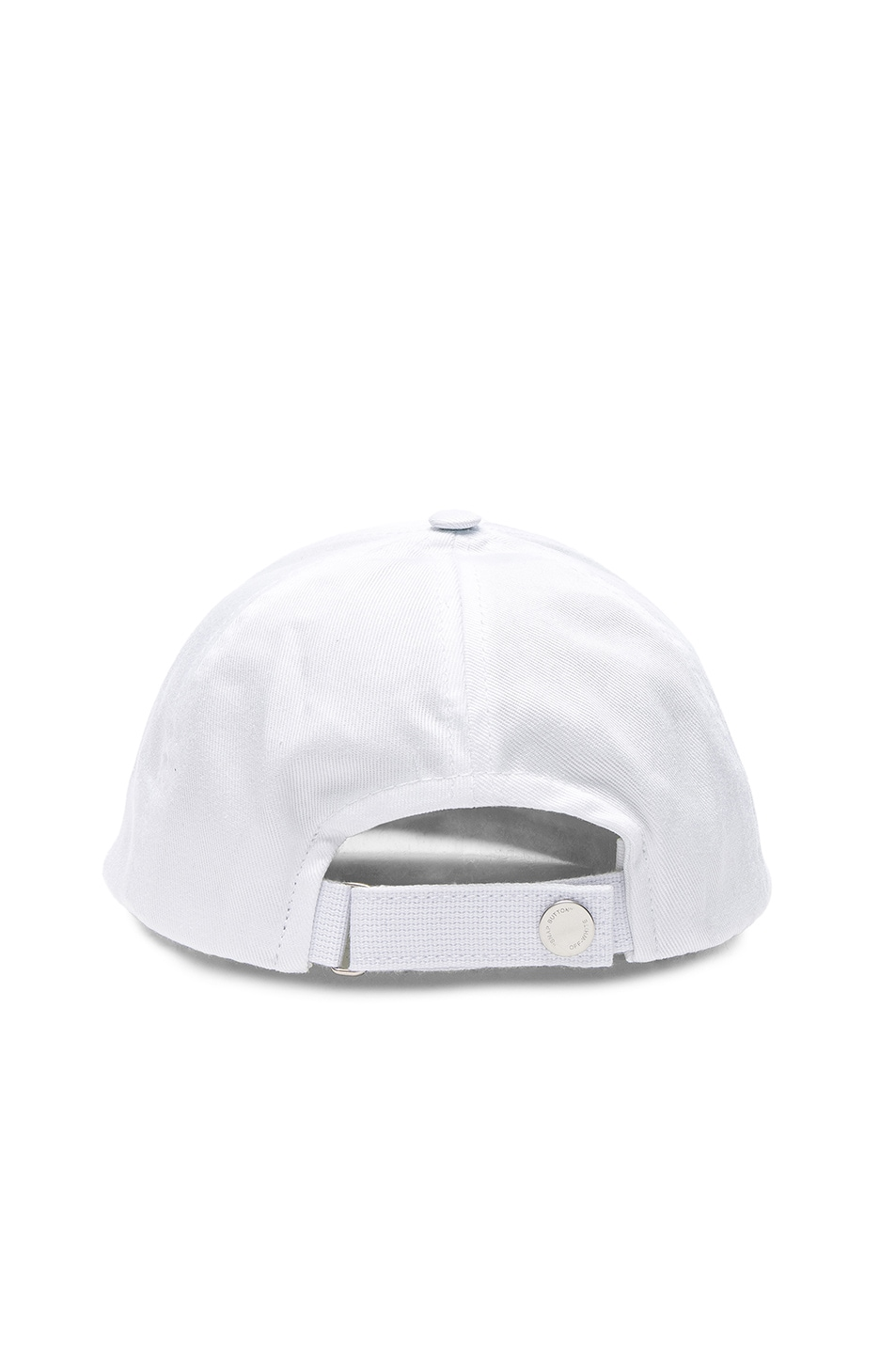 Image 4 of OFF-WHITE Woman Baseball Cap in White & Bordeaux