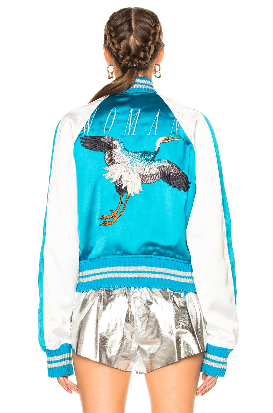 Image 6 of OFF-WHITE Souvenir Jacket in Blue & White