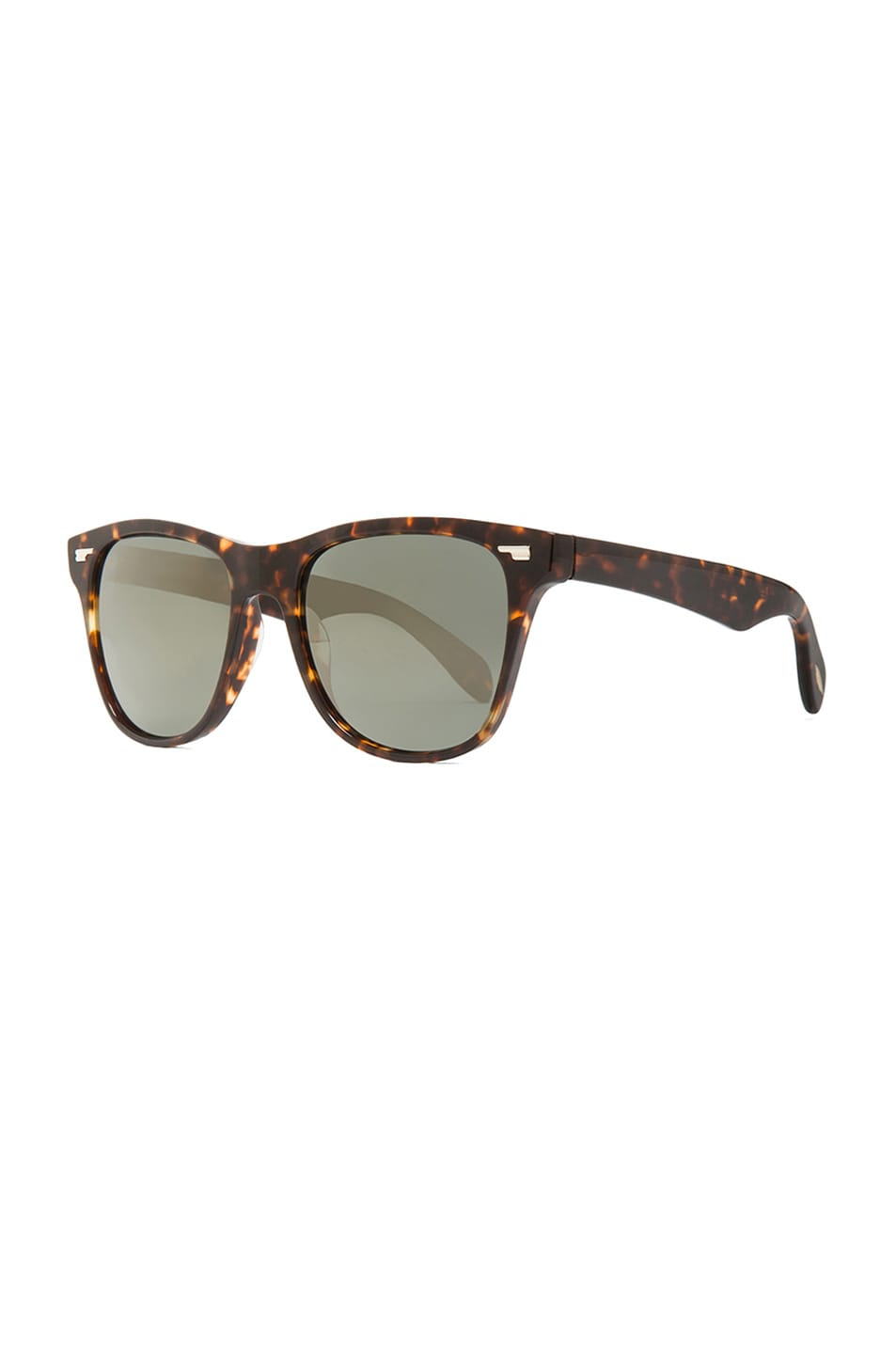 Image 2 of Oliver Peoples Lou Polarized Sunglasses in Sable Tortoise