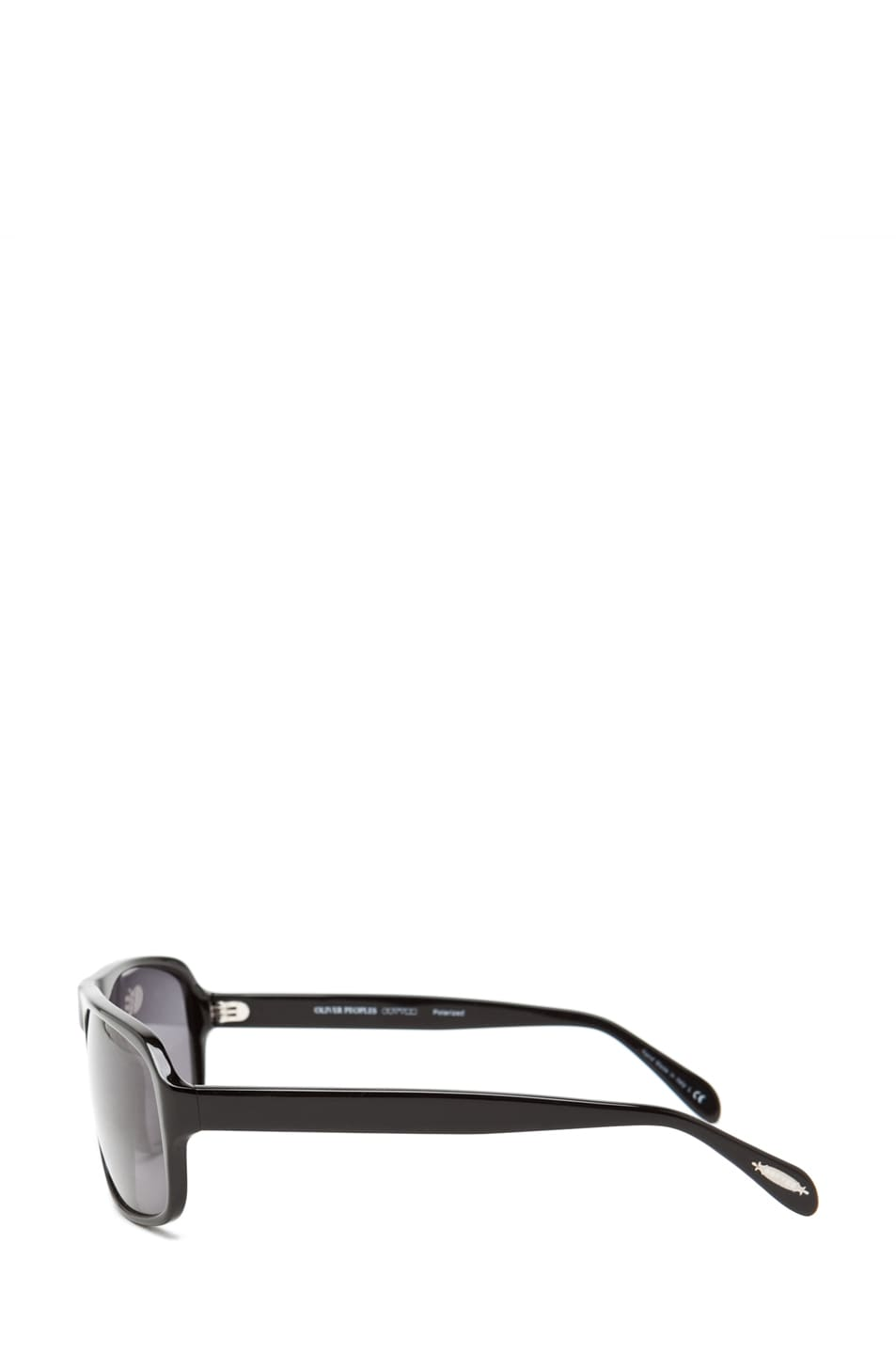 Image 3 of Oliver Peoples Callan in Black/Grey POLARIZED