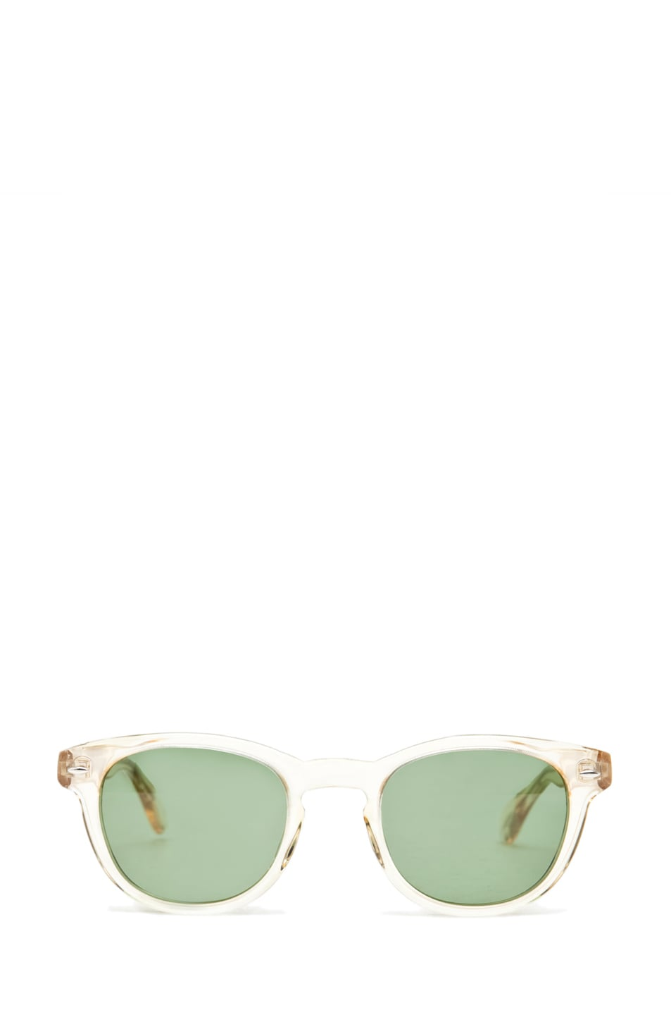 Image 1 of Oliver Peoples Sheldrake C in Buff/Mineral Glass Green