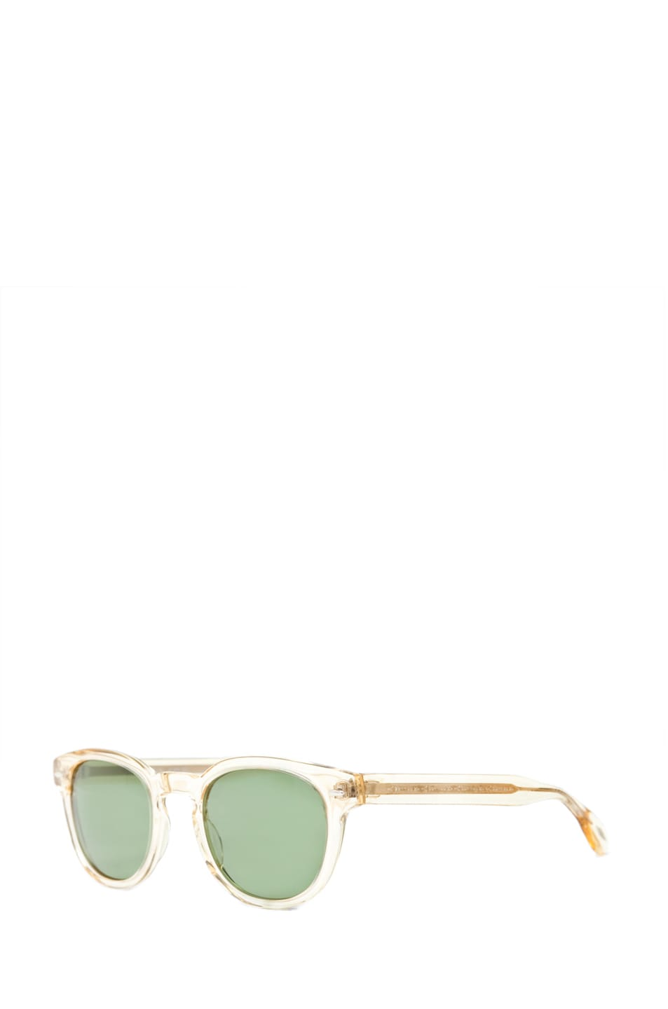 Image 2 of Oliver Peoples Sheldrake C in Buff/Mineral Glass Green