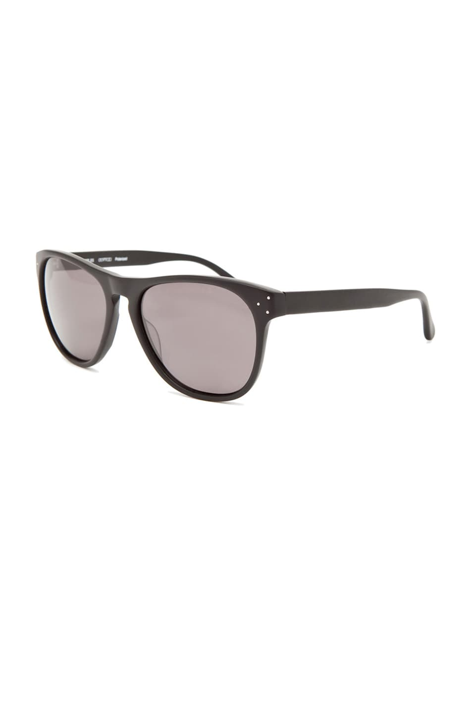 Image 2 of Oliver Peoples Daddy B Polarized Sunglasses in Matte Black