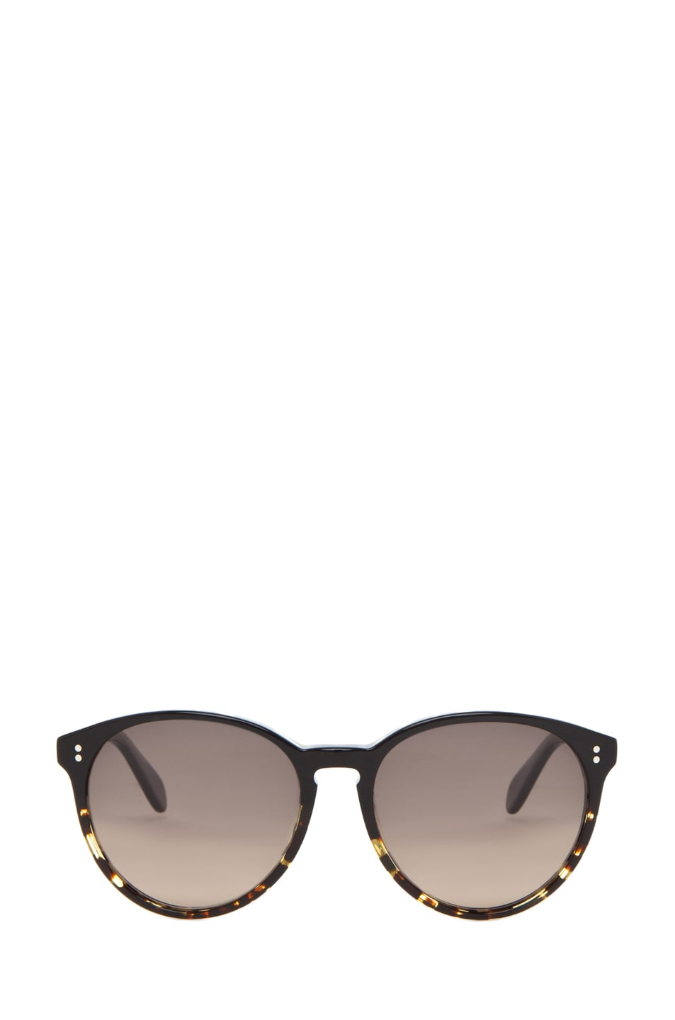 Image 1 of Oliver Peoples Corie Polarized in Dark Tortoise Black