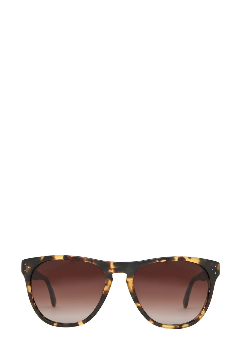 Image 1 of Oliver Peoples Daddy B Sunglasses in Matte Dark Brown Tortoise
