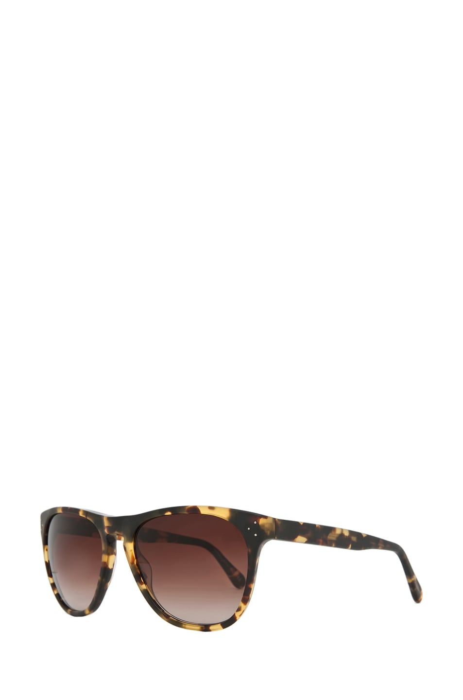 Image 2 of Oliver Peoples Daddy B Sunglasses in Matte Dark Brown Tortoise