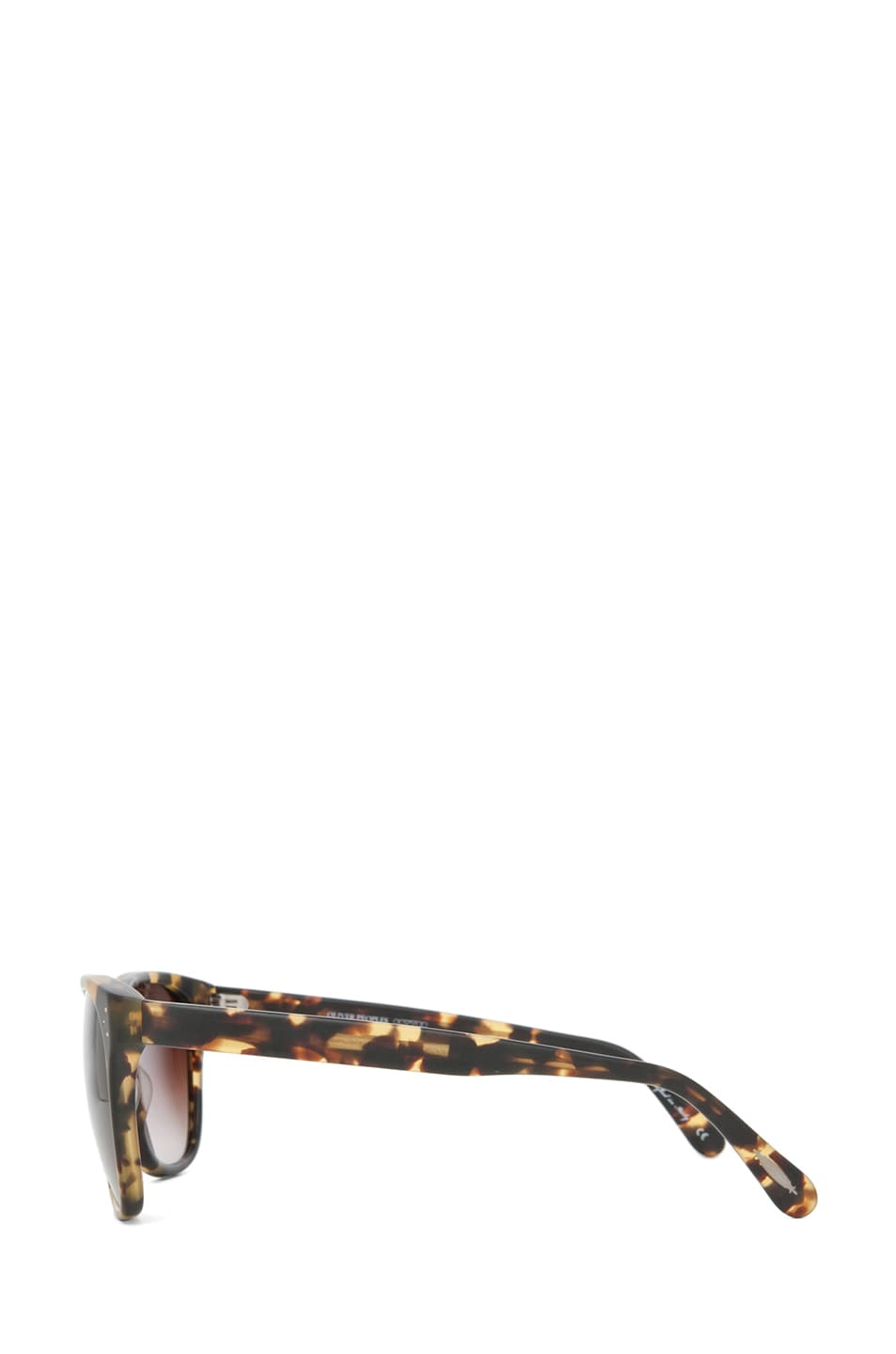 Image 3 of Oliver Peoples Daddy B Sunglasses in Matte Dark Brown Tortoise