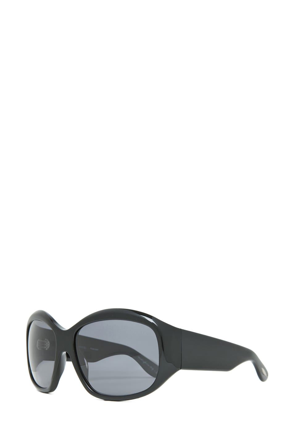 Image 2 of Oliver Peoples Rovella Polarized Sunglasses in Black