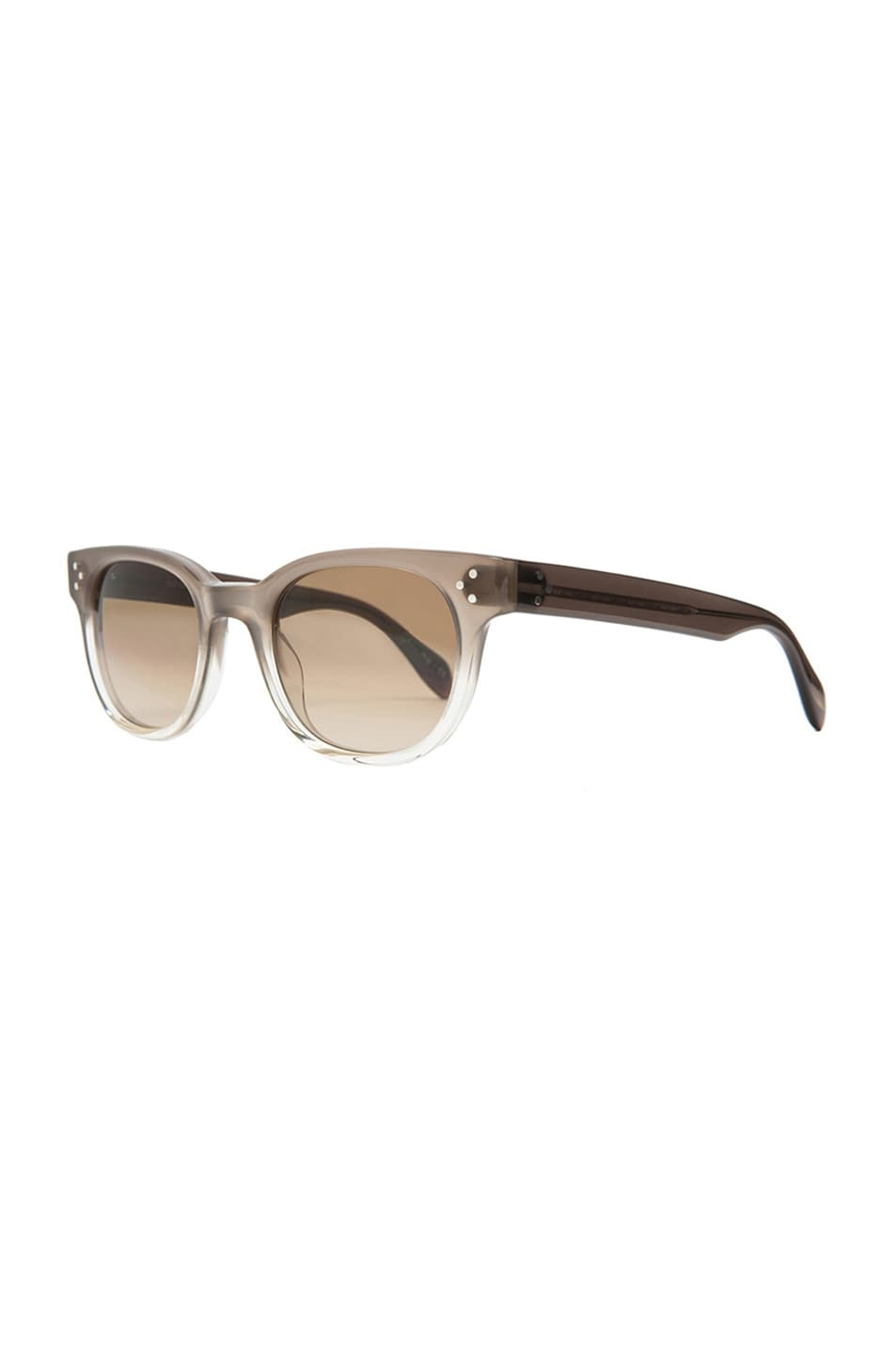 Image 2 of Oliver Peoples Afton Photochromic Sunglasses in Taupe Gradient