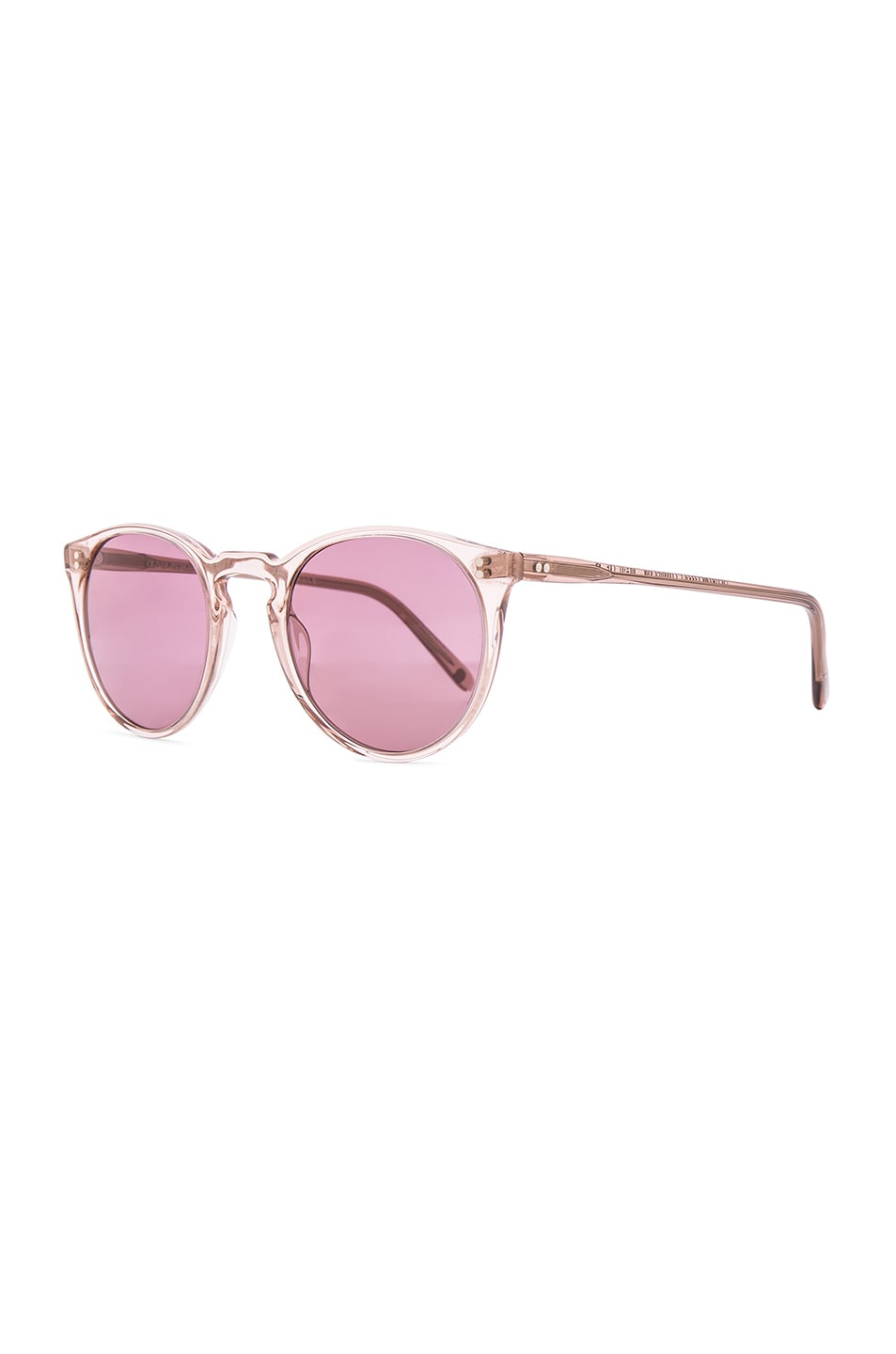 Image 2 of Oliver Peoples The Row O'Malley NYC Sunglasses in Translucent Amber