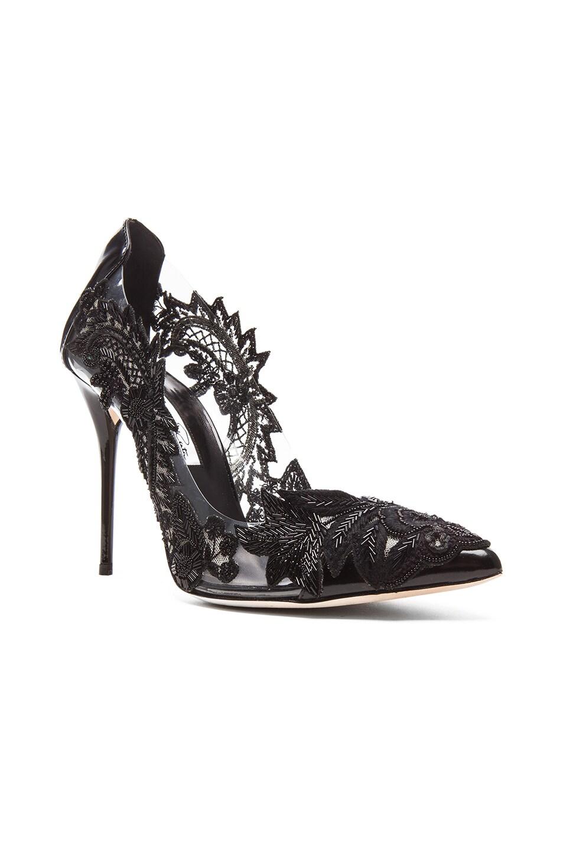 Image 2 of Oscar de la Renta Alyssa Patent Leather Heels