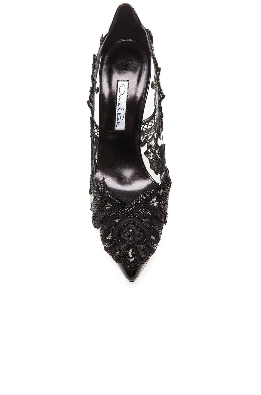 Image 4 of Oscar de la Renta Alyssa Patent Leather Heels