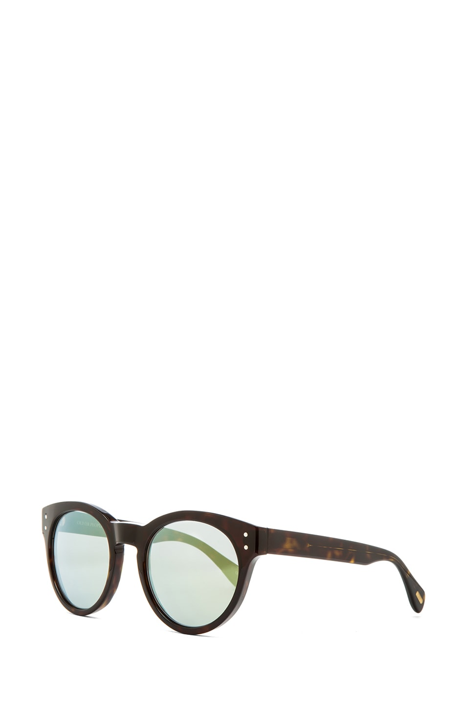 Image 2 of Oliver Peoples for Maison Kitsune Paris Sunglasses in Dark Tortoise