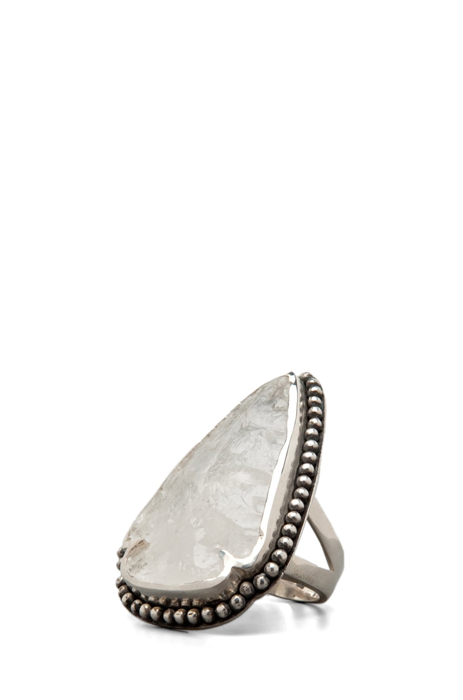 Image 1 of Pamela Love Arrowhead Ring in Quartz