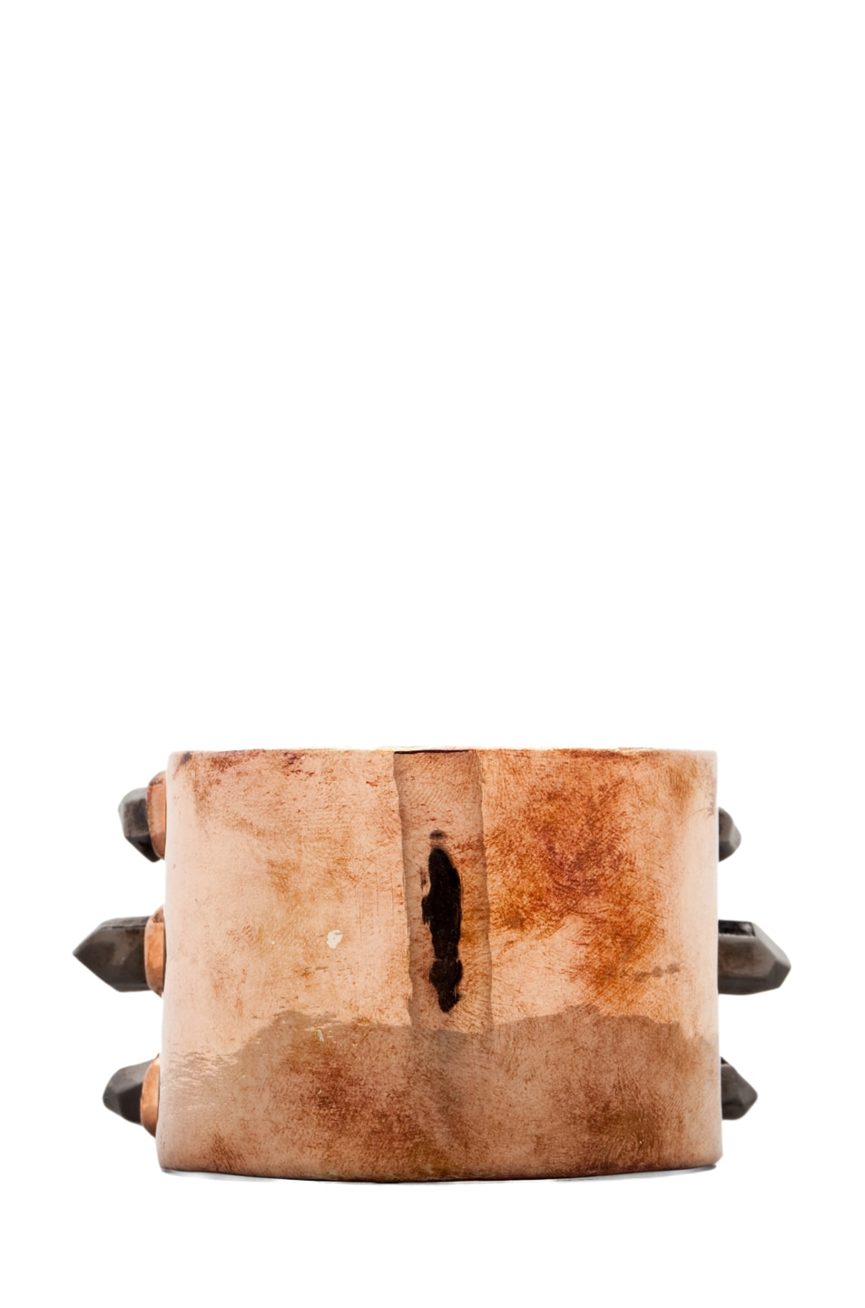Image 2 of Pamela Love Triple Spike Cuff in Rose Gold
