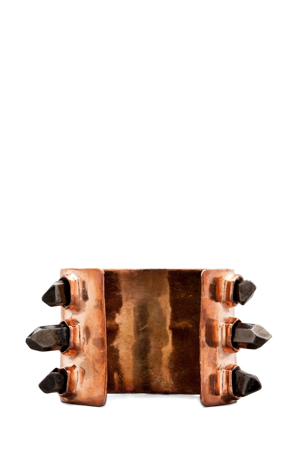 Image 3 of Pamela Love Triple Spike Cuff in Rose Gold