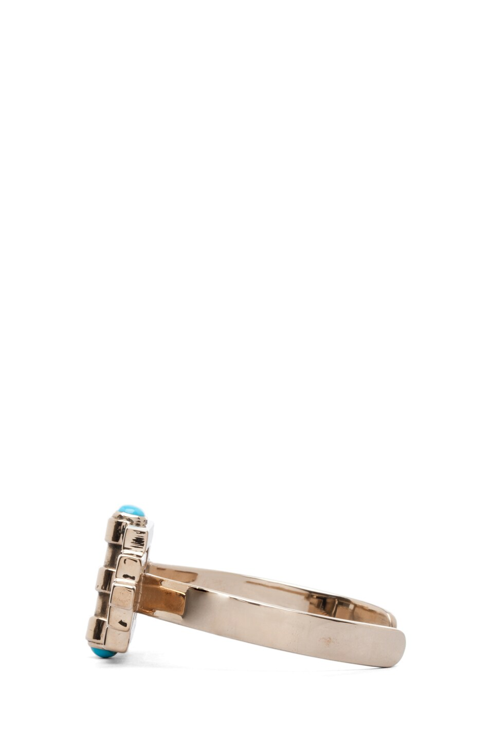 Image 2 of Pamela Love Empire Reflection Cuff in Turquoise