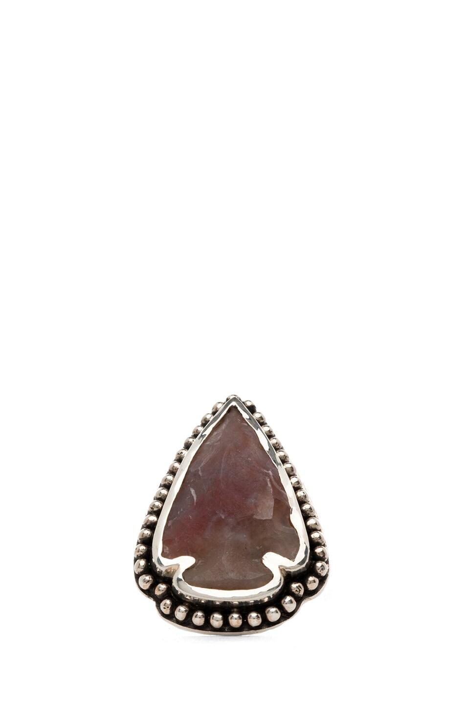 Image 2 of Pamela Love Arrowhead Ring in Purple