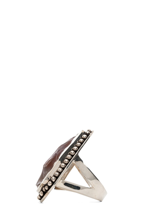Image 3 of Pamela Love Arrowhead Ring in Purple