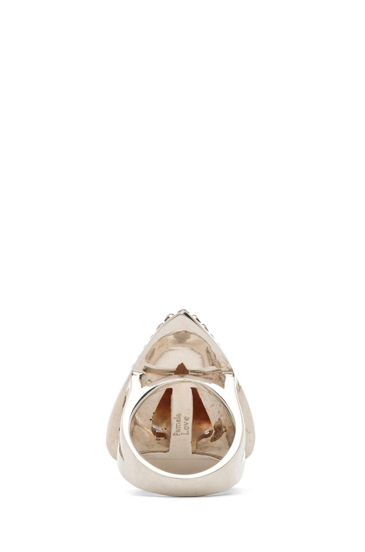 Image 4 of Pamela Love Arrowhead Ring in Purple