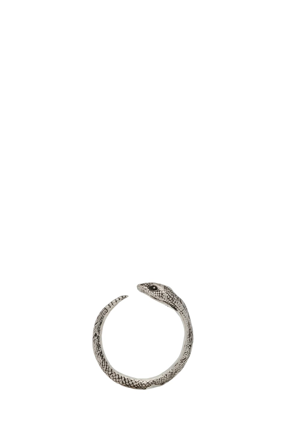 Image 3 of Pamela Love Serpent Ring in Sterling Silver