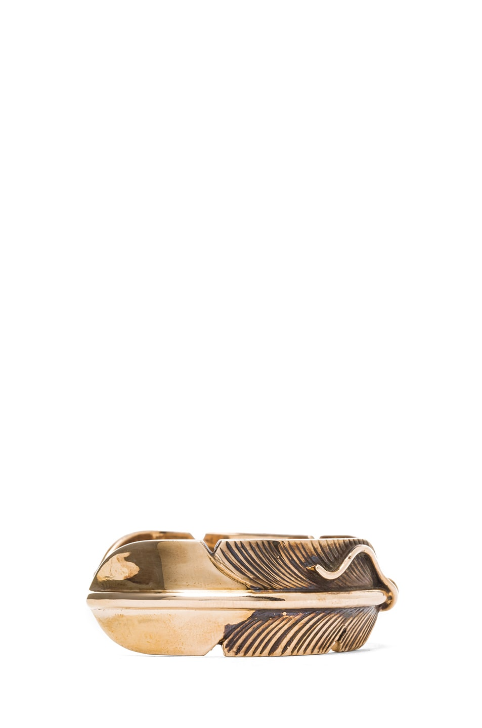 Image 2 of Pamela Love Feather Cuff in Bronze