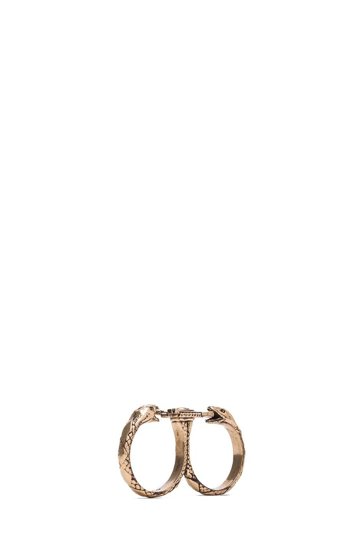 Image 5 of Pamela Love Duel Double Finger Ring in Bronze