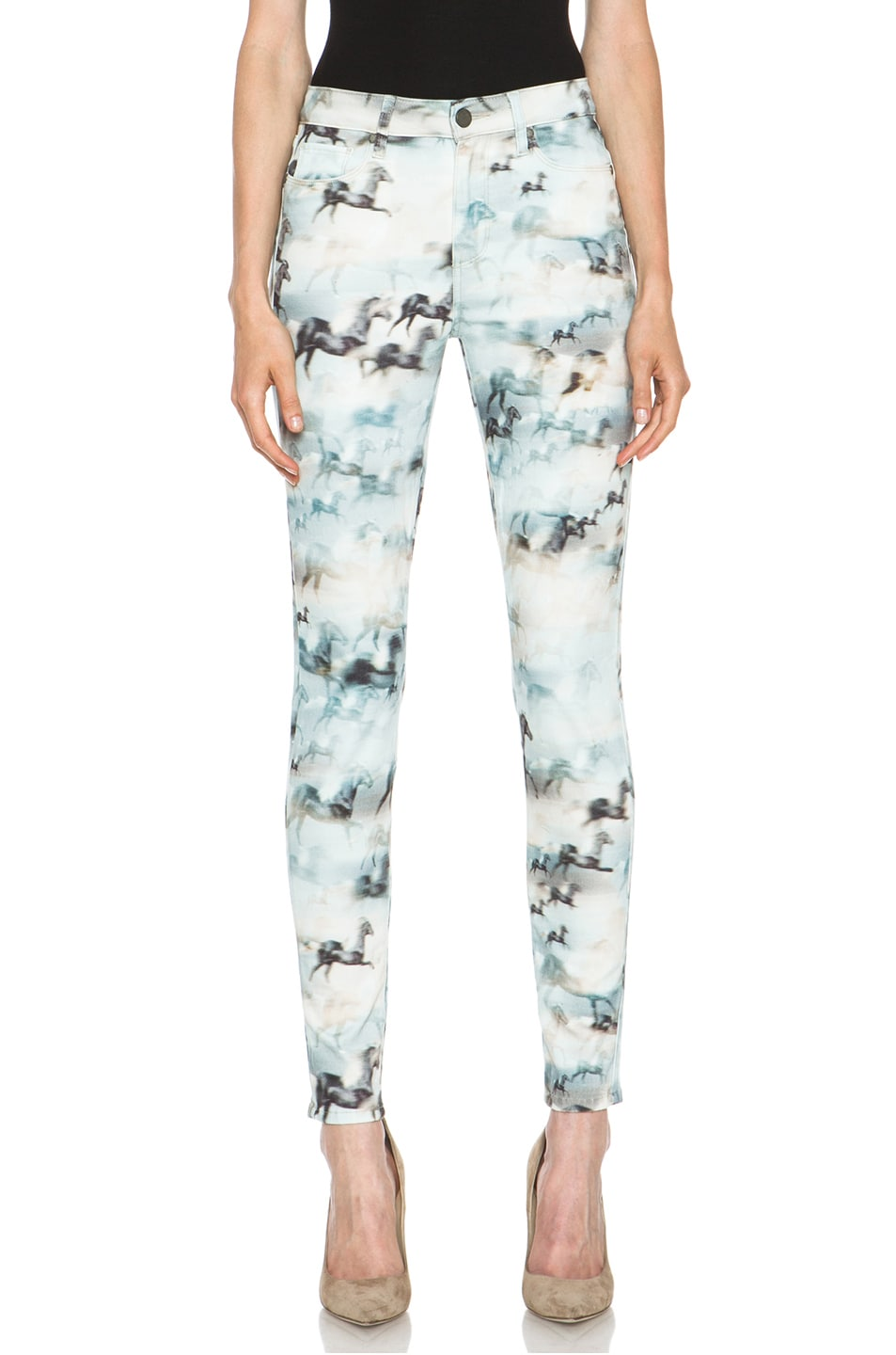 Image 1 of Paige Denim Hoxton Ultra Skinny Jean in Wild Horses