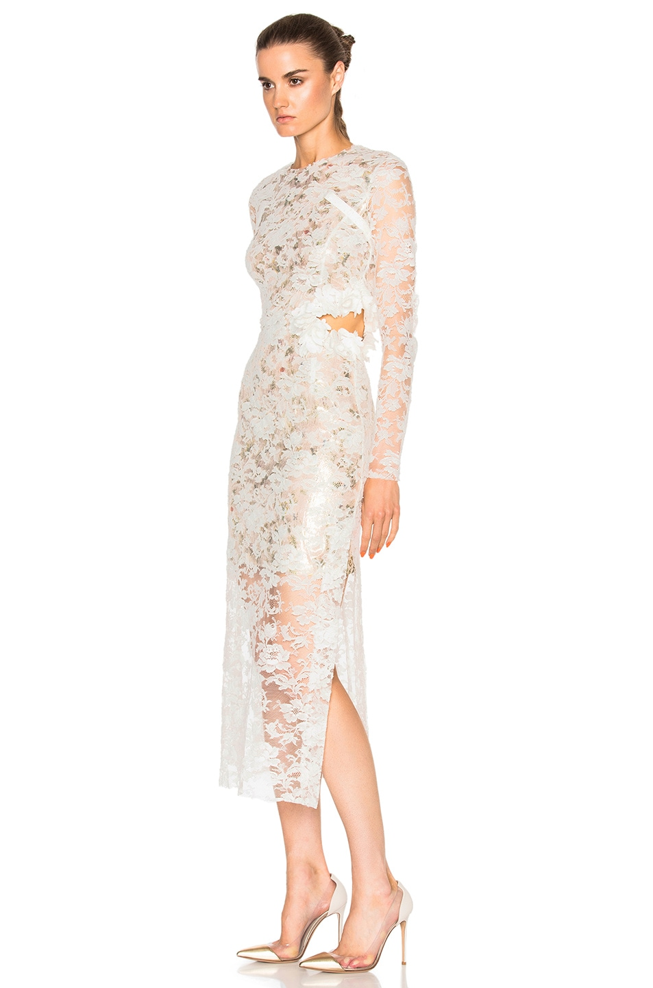 Image 2 of Preen by Thornton Bregazzi Galen Dress in Ivory