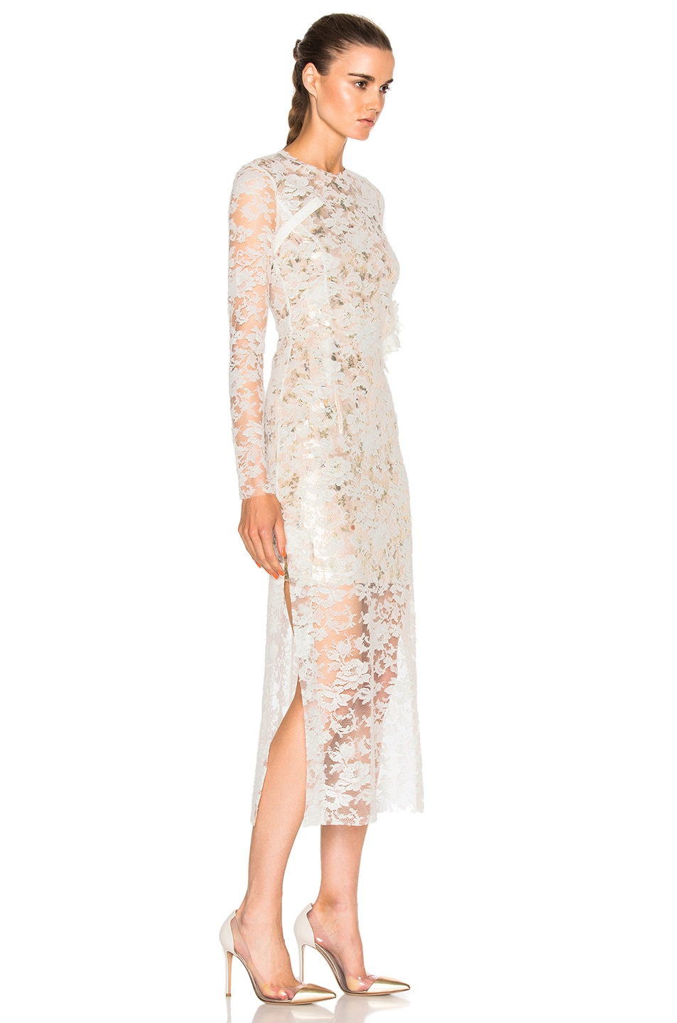 Image 3 of Preen by Thornton Bregazzi Galen Dress in Ivory