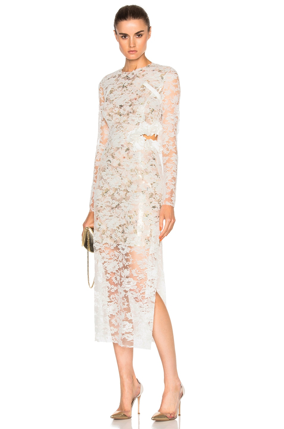 Image 6 of Preen by Thornton Bregazzi Galen Dress in Ivory