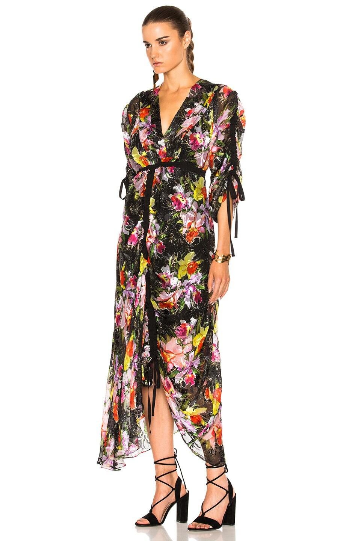 Image 2 of Preen by Thornton Bregazzi Cora Dress in Tin Flower