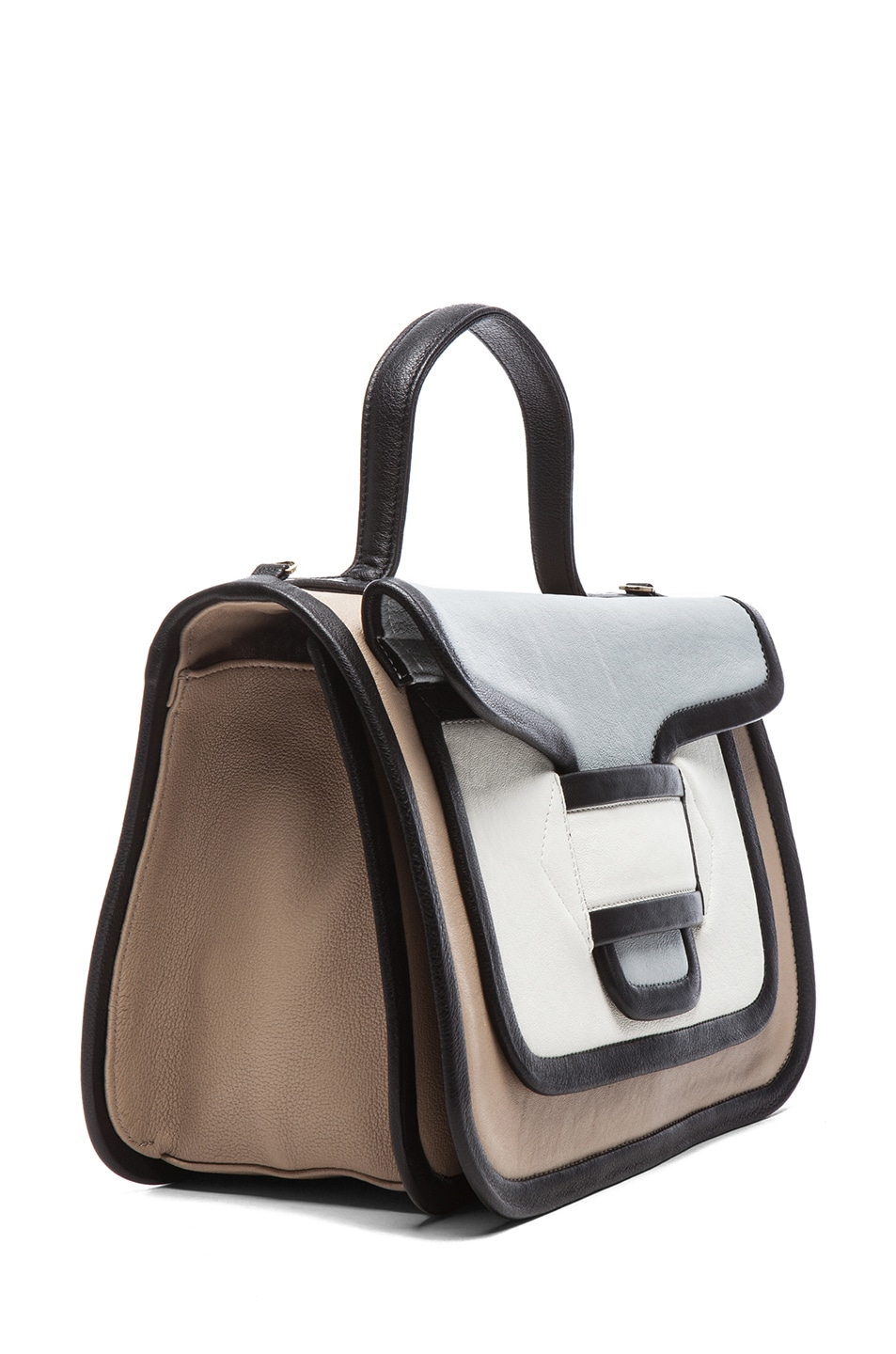 Image 3 of Pierre Hardy Large Bag in Multi Beige