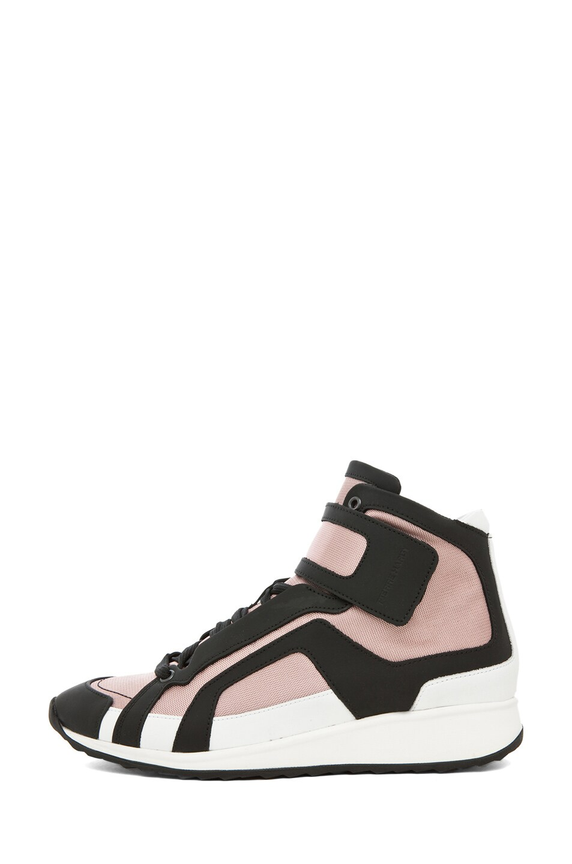 Image 1 of Pierre Hardy Sneaker in Pink & Black