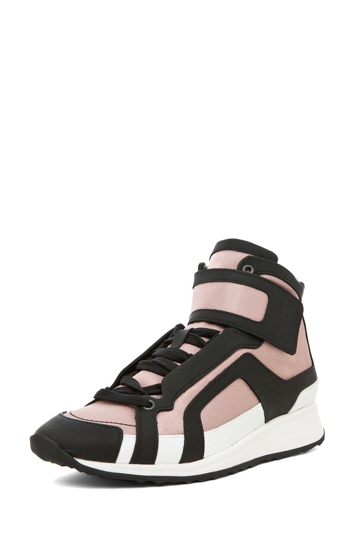 Image 2 of Pierre Hardy Sneaker in Pink & Black