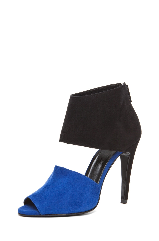 Image 1 of Pierre Hardy Multi Colored Heel in Blue