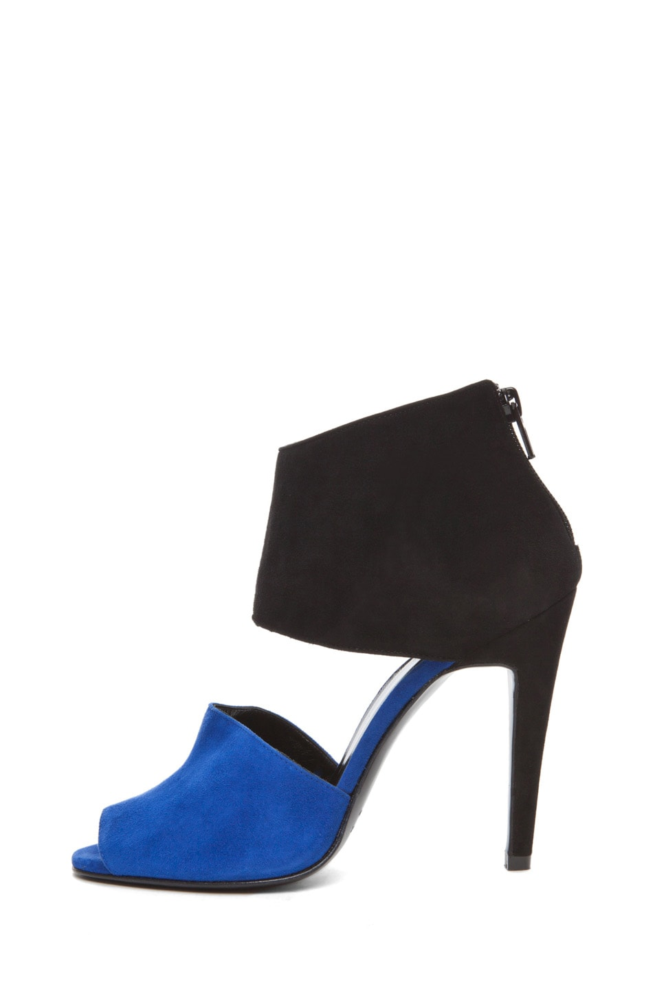 Image 2 of Pierre Hardy Multi Colored Heel in Blue