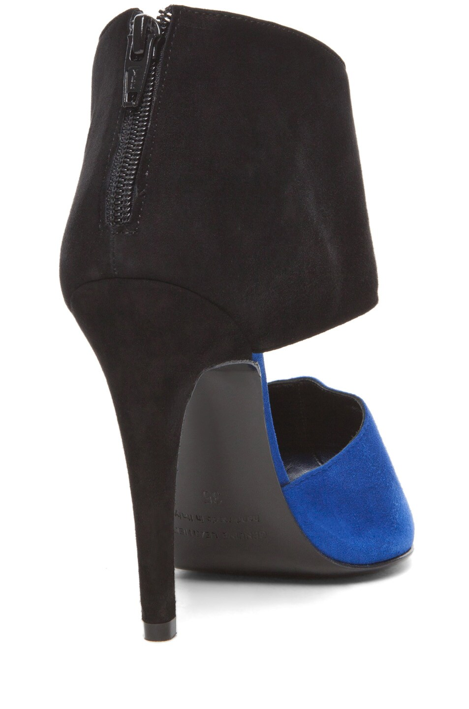 Image 3 of Pierre Hardy Multi Colored Heel in Blue