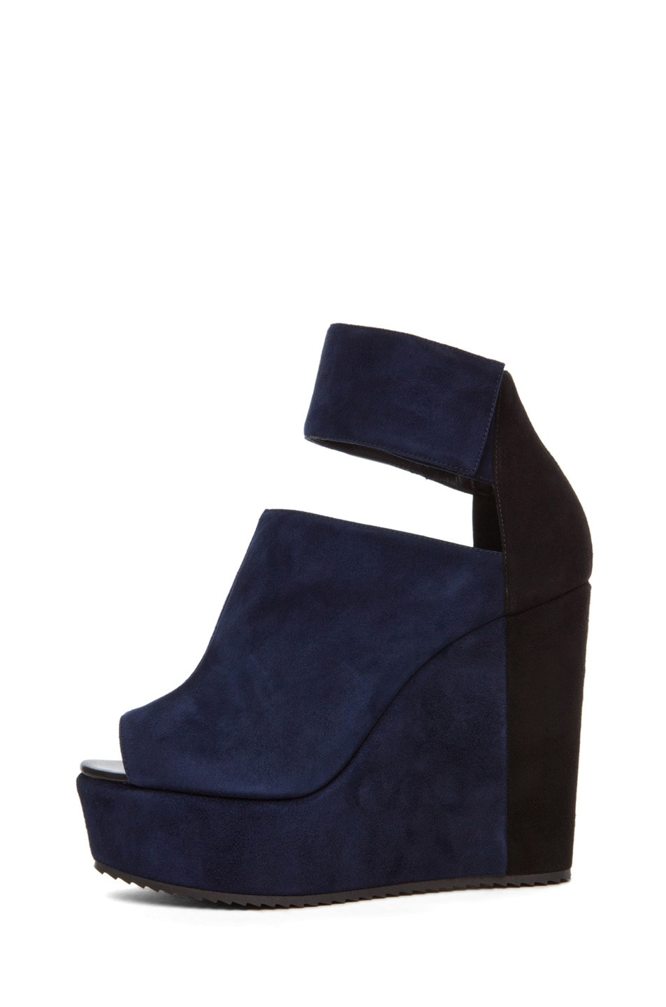 Image 2 of Pierre Hardy Colorblocked Wedge in Navy