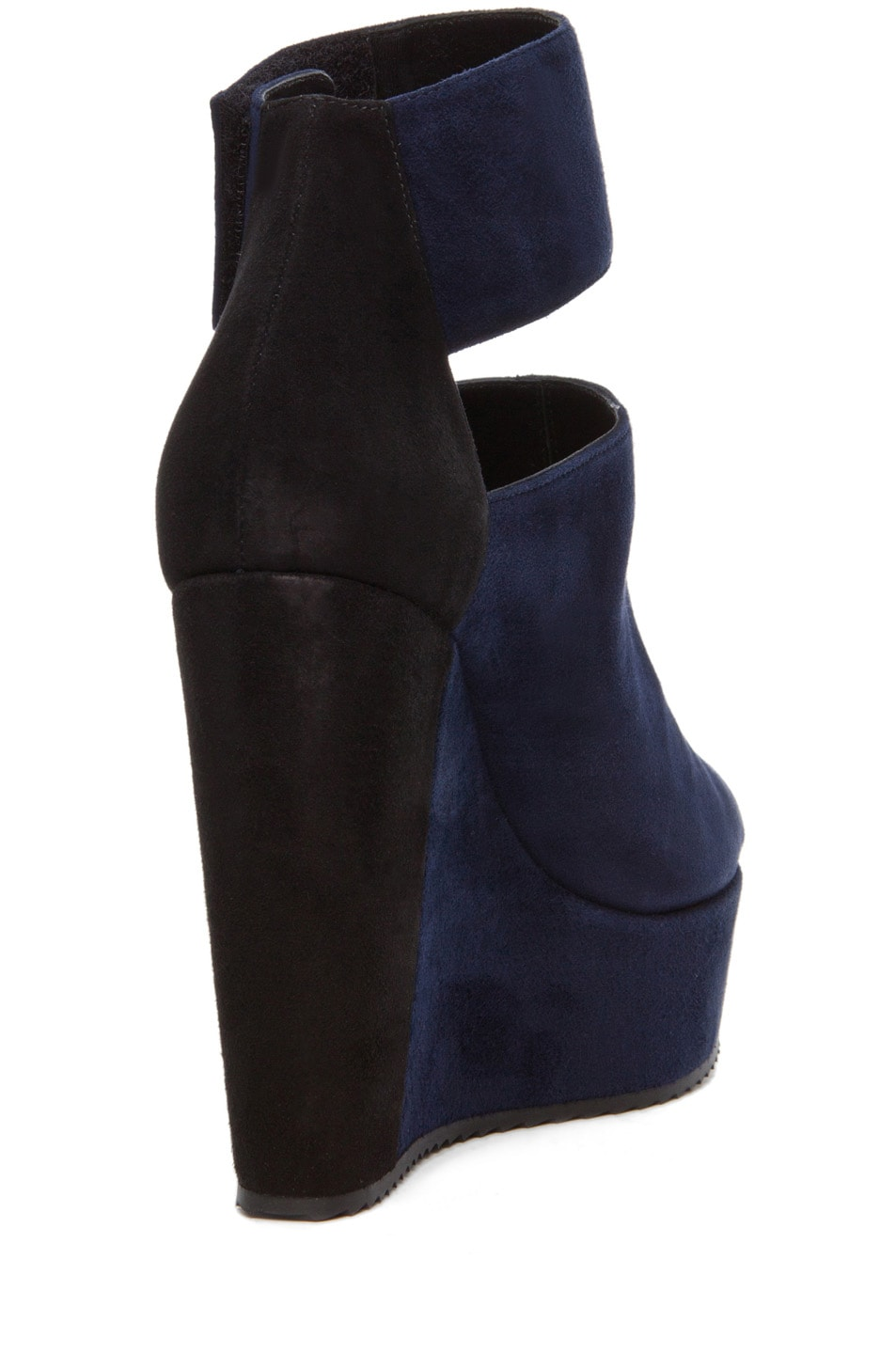 Image 3 of Pierre Hardy Colorblocked Wedge in Navy