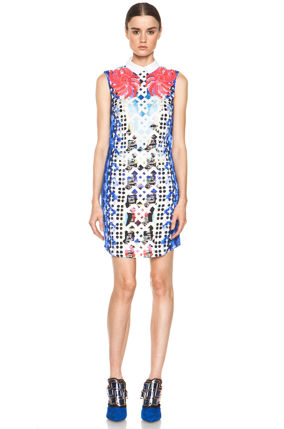 Image 1 of Peter Pilotto Embellished Dress in Pink