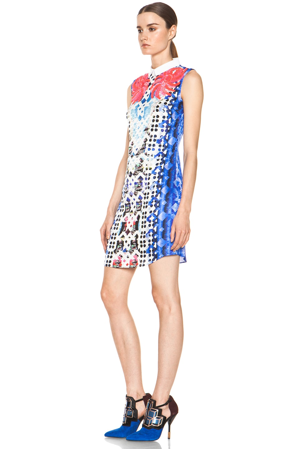 Image 2 of Peter Pilotto Embellished Dress in Pink