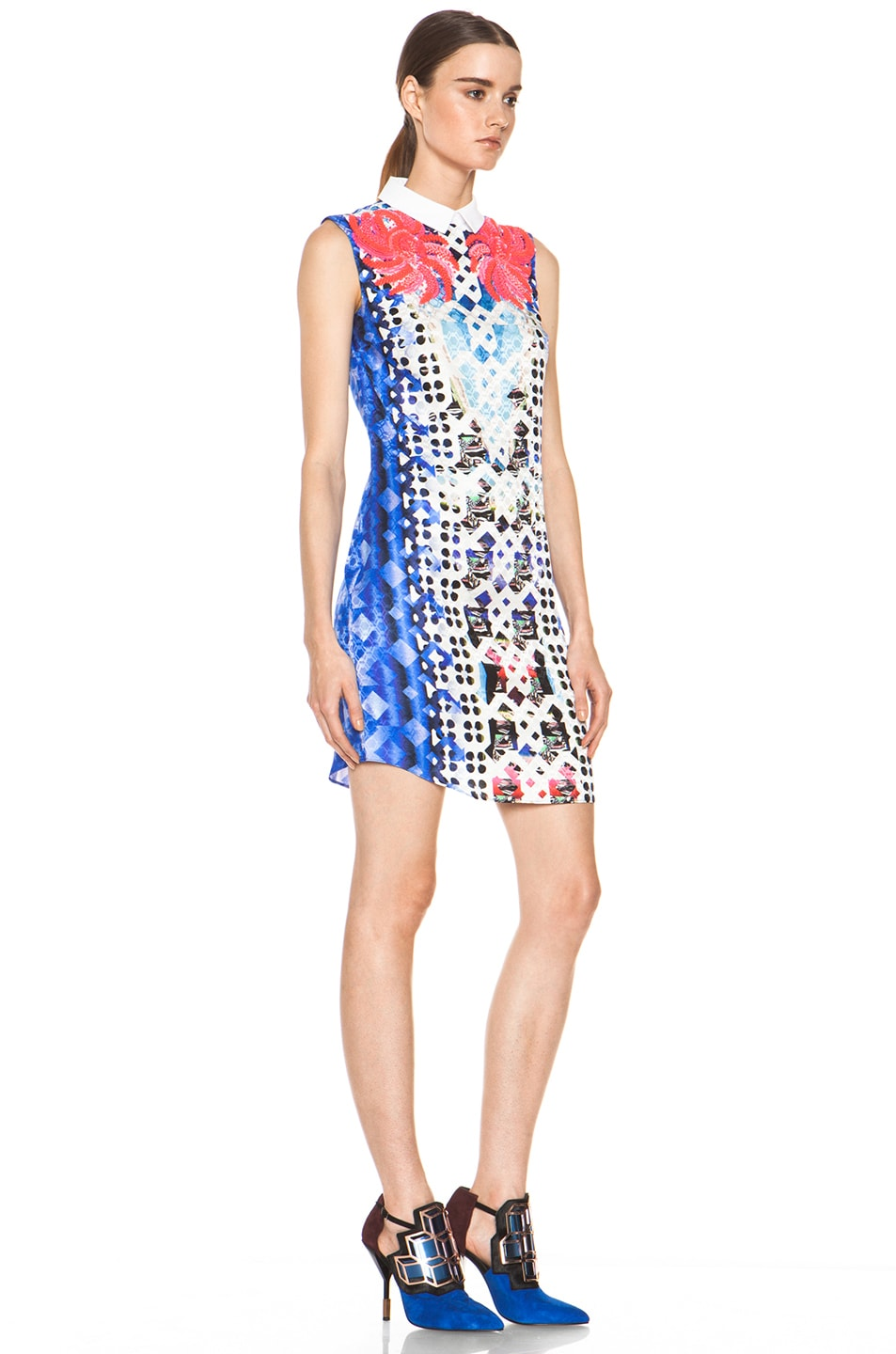 Image 3 of Peter Pilotto Embellished Dress in Pink