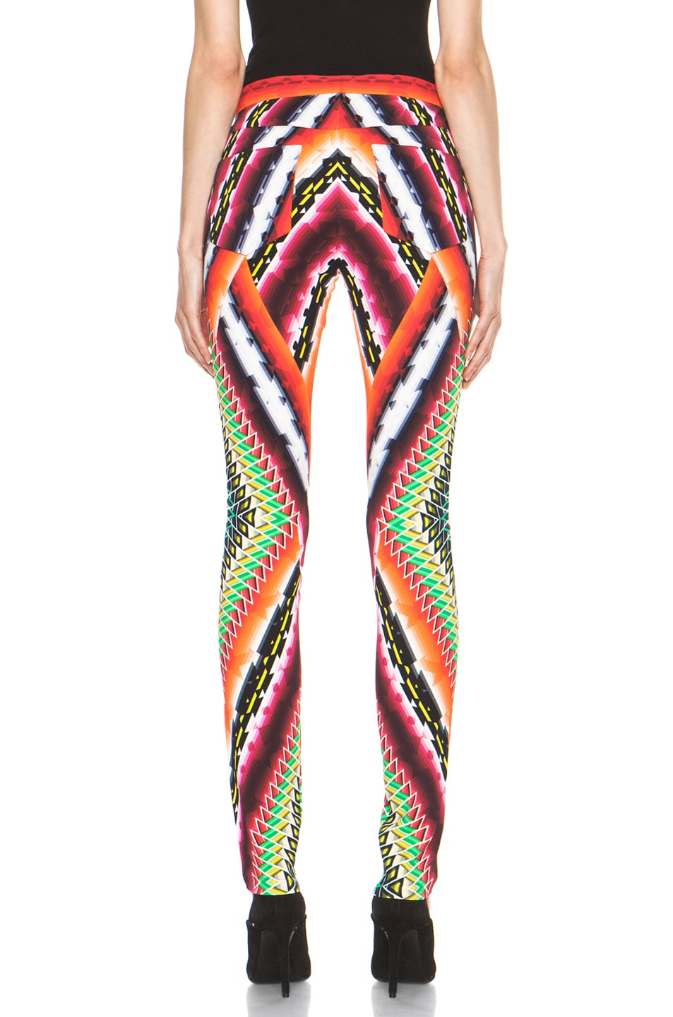 Image 4 of Peter Pilotto Eli Trousers in Damask Red
