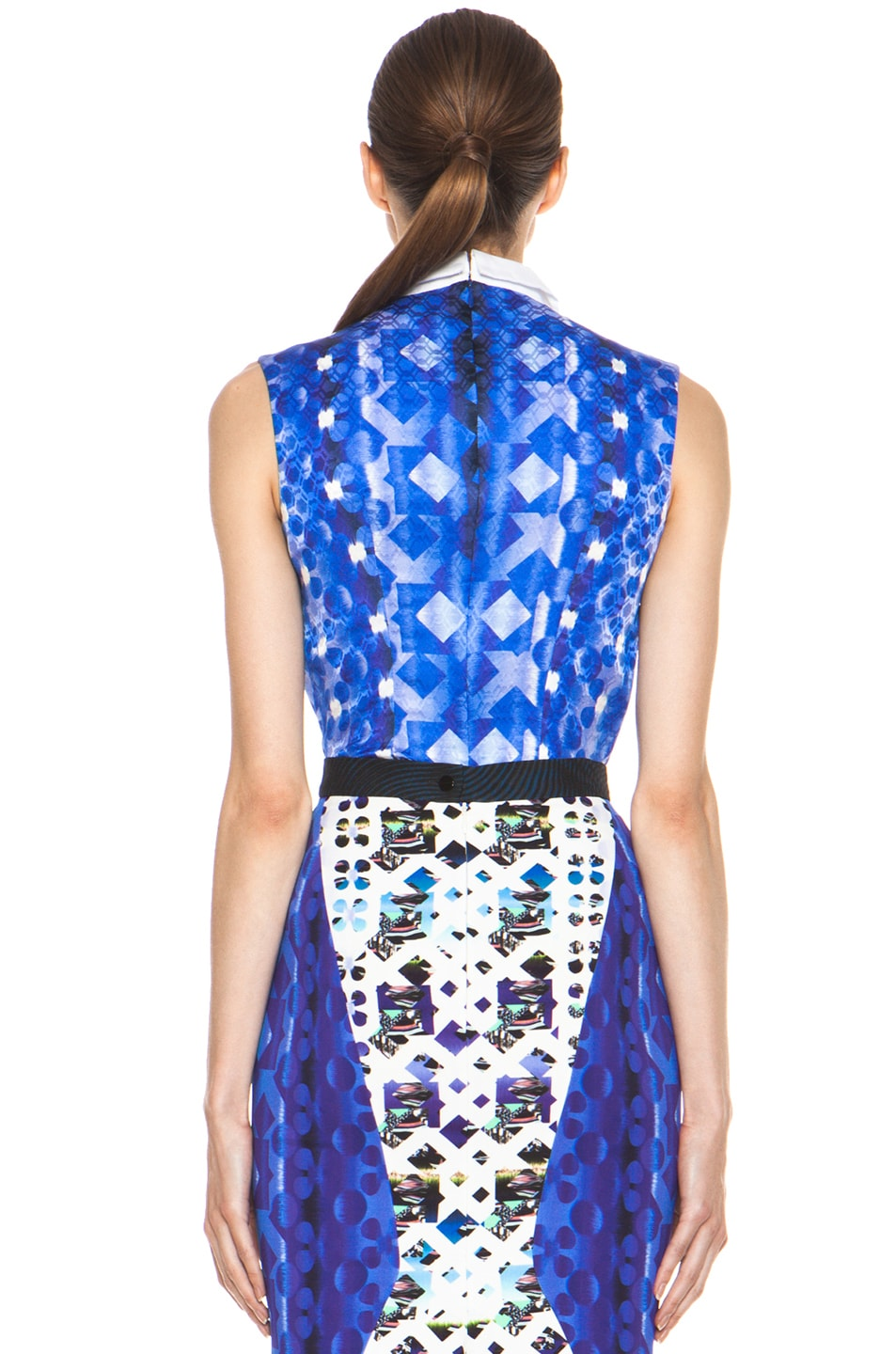 Image 5 of Peter Pilotto Blouse in Blue Multi